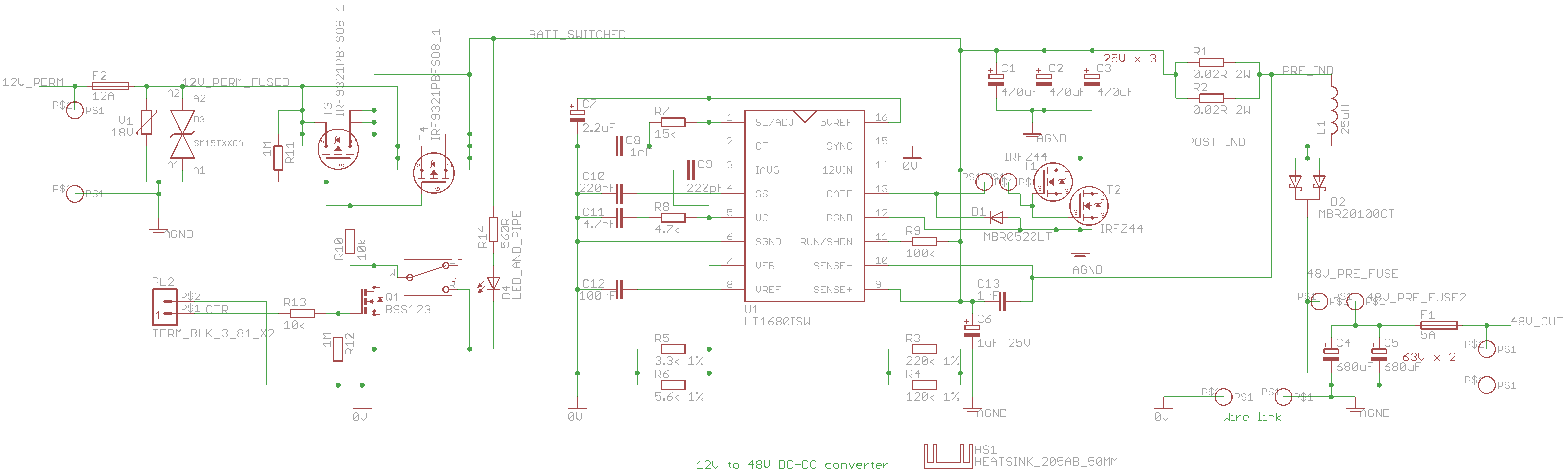 48v 150w Power Supply 12v Step Up Badcafe Dc To Converter Circuit Diagram This Is The